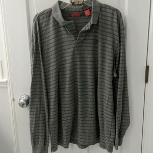 Izod long sleeve polo shirt